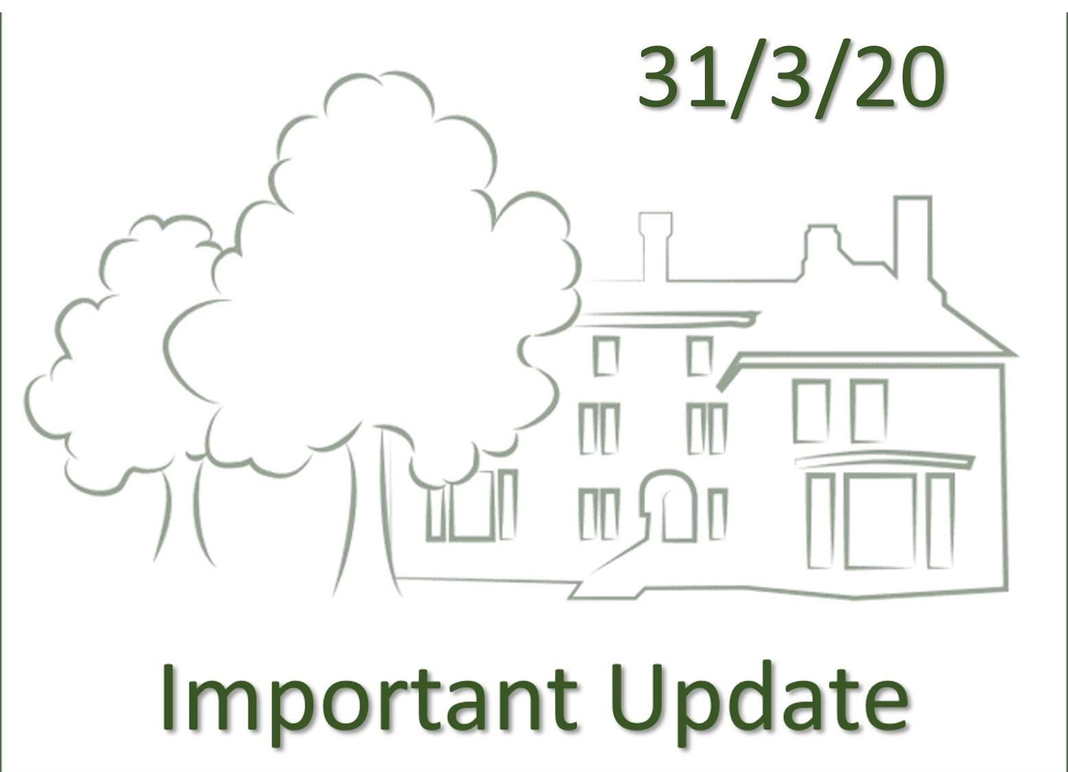 Langham Oaks Update 31-3-20